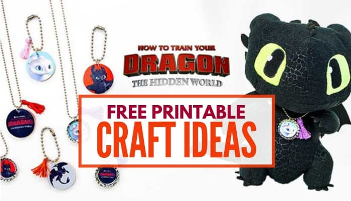 How to train your dragon printable