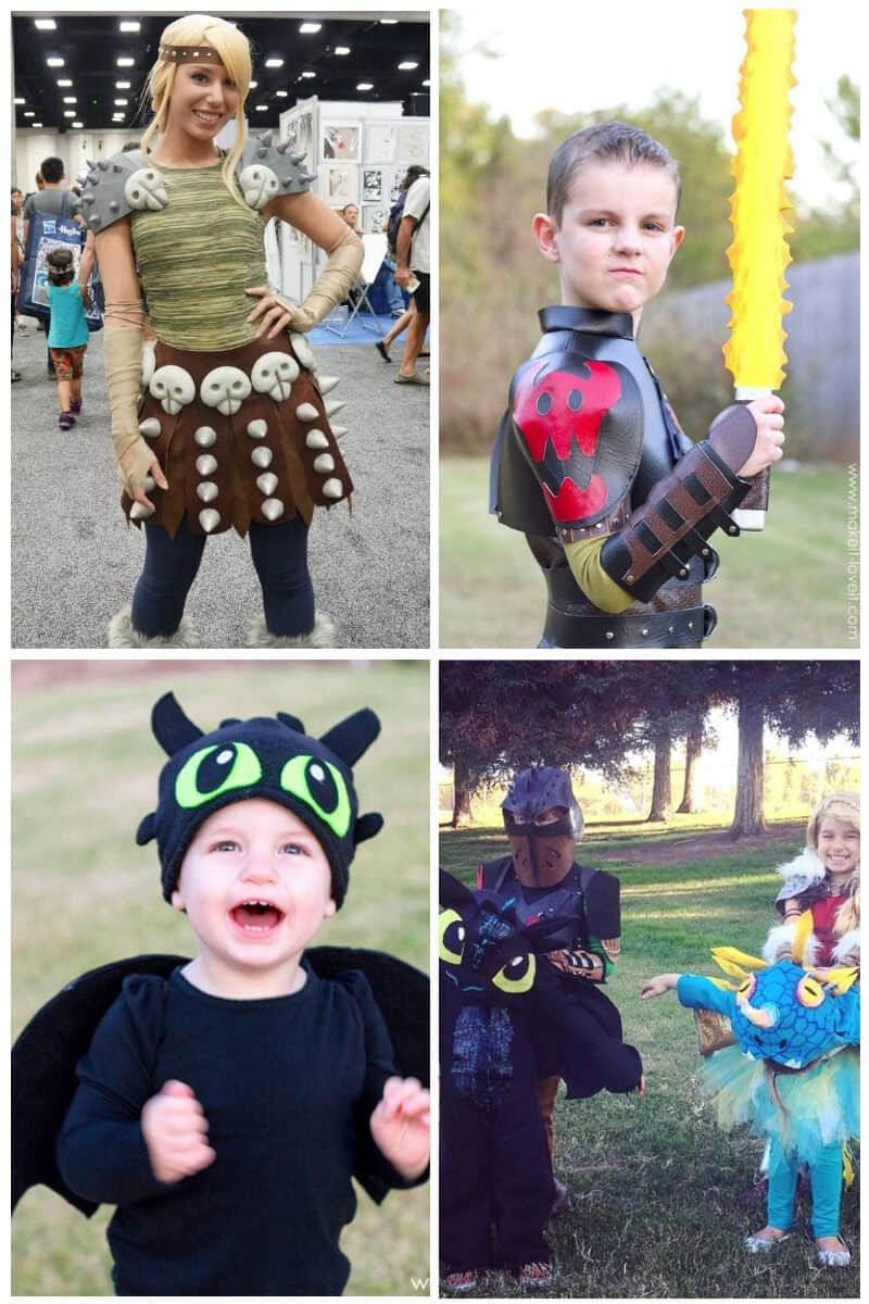 How To Train Your Dragon DIY Costumes