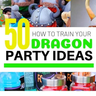 HTTYD party ideas