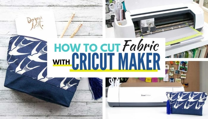 How to cut fabric with your Cricut Maker