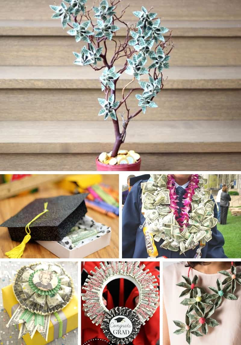 Creative Ways To Gift Cash For Graduation Collage