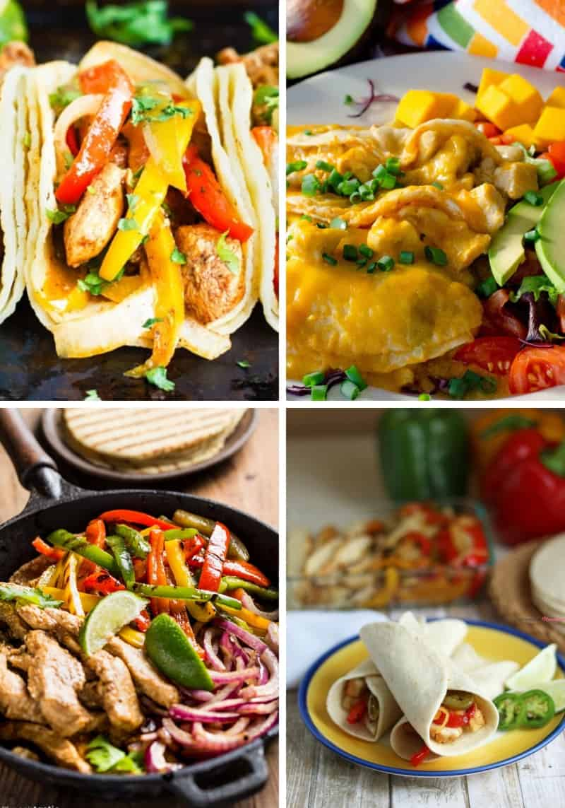 Chicken Fajita Recipes for Cinco de Mayo