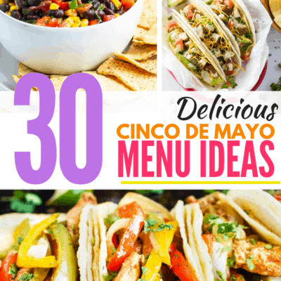 cinco de mayo menu ideas pin image