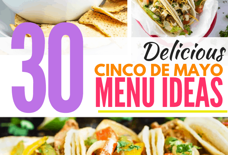 cinco de mayo menu ideas pin image