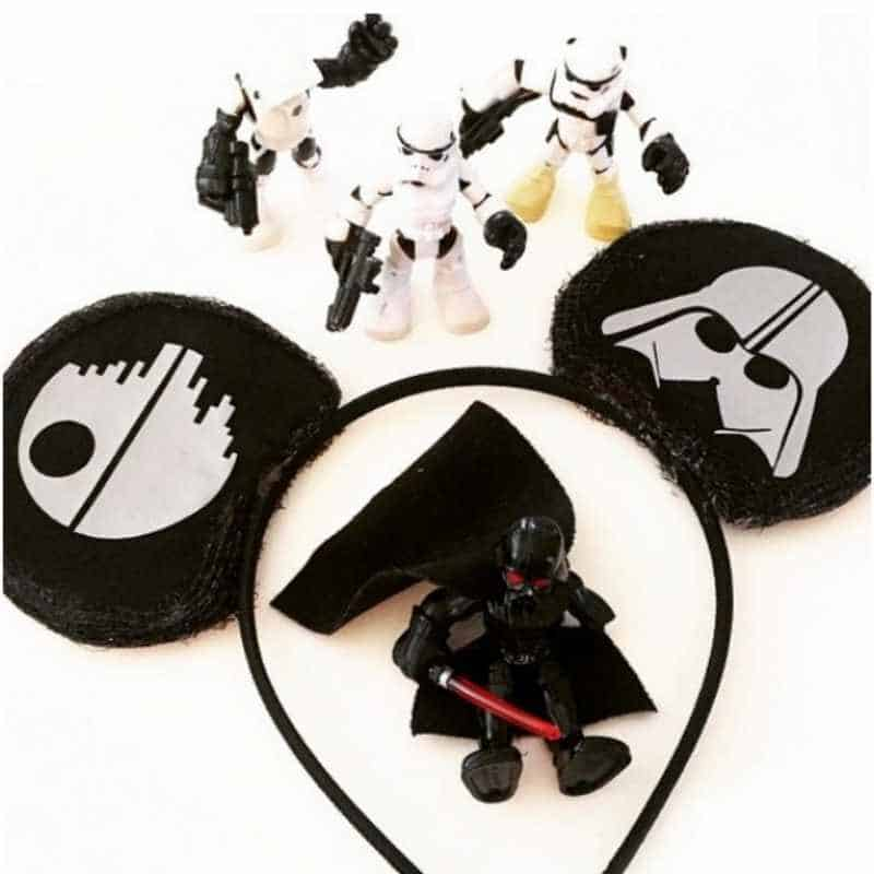 DIY Star Wars Mickey Ears by MomEndeavors