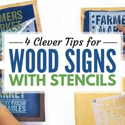 4 Clever Tips about Stencils graphic over collage image