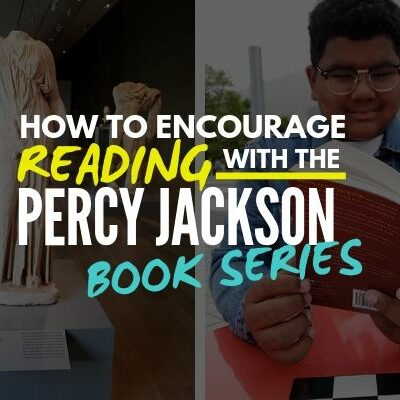 how to encourage reading with the Percy Jackson book series