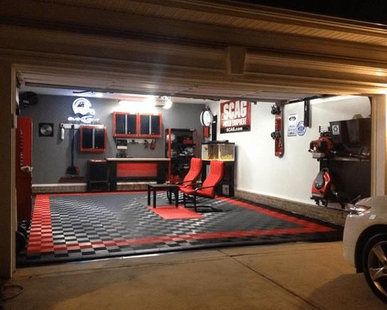 Man Cave Garage Ideas