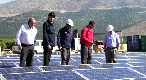 Chile es líder en Latinoamérica en uso energía solar