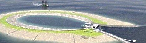 Bélgica construirá isla para almacenar energía eólica y sustituir la nuclear