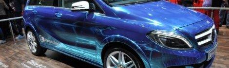 Mercedes-Benz Clase B eléctrico : Lanzamiento en U.S.A