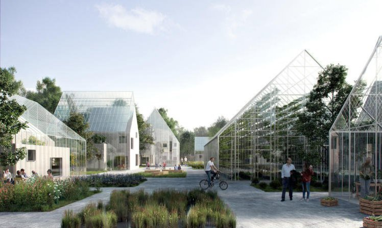 ReGen Villages  This Dutch town will grow its own food, live off the grid and handle its own waste  Permission granted from: James Ehrlich