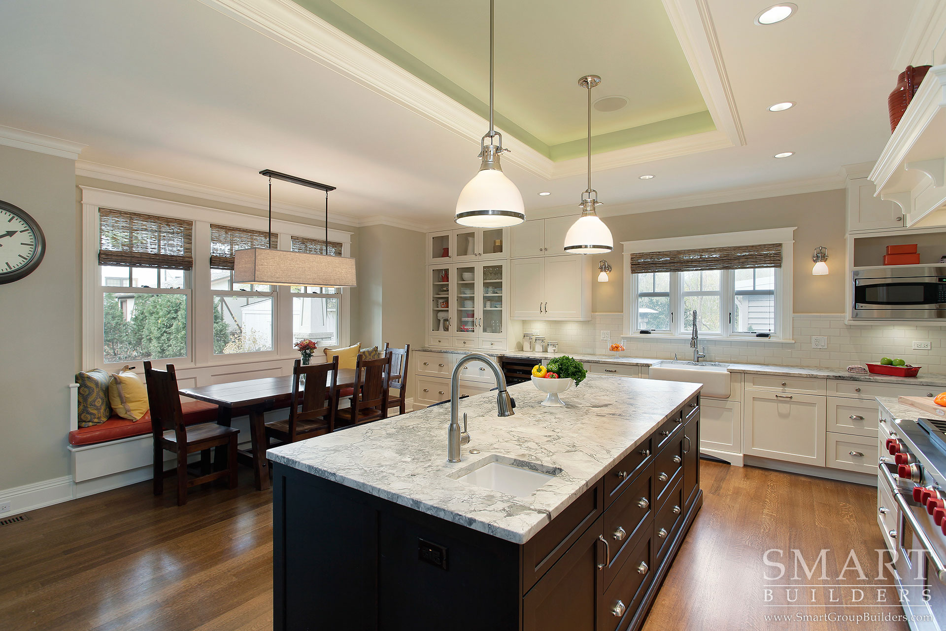 Contemporary Craftsman Custom Home Photo Gallery  SMART