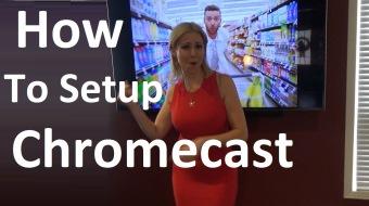How to Setup Chromecast on TV with phone