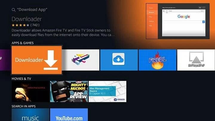 sideload apps on fire