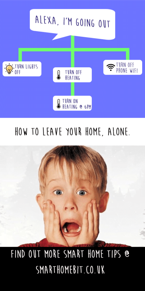 Smart Home Routines when leaving home