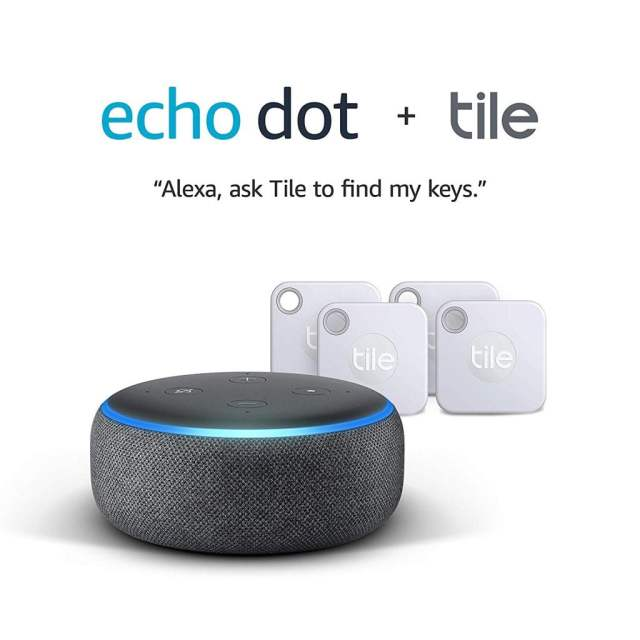 Echo Dot & Tile Mate Deal UK