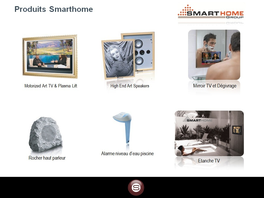 SmartBus Home Automation Technology  French Catalogues