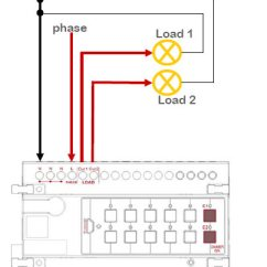 Intercom Wiring Diagram What Is The Meaning Of Smart-bus Dimmer 2ch 6amp /ch, Din-rail Mount (g4) - Sb-dim2c6a-dn