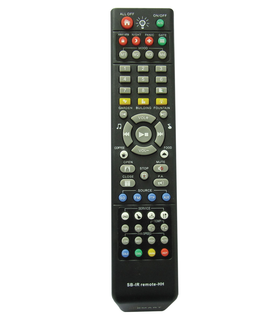 Simplified Hand Held IR Remote Control 5  SBRemote5HH