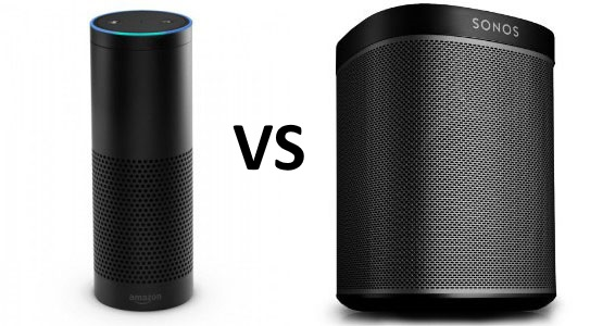 Sonos Play:1 vs Amazon Echo