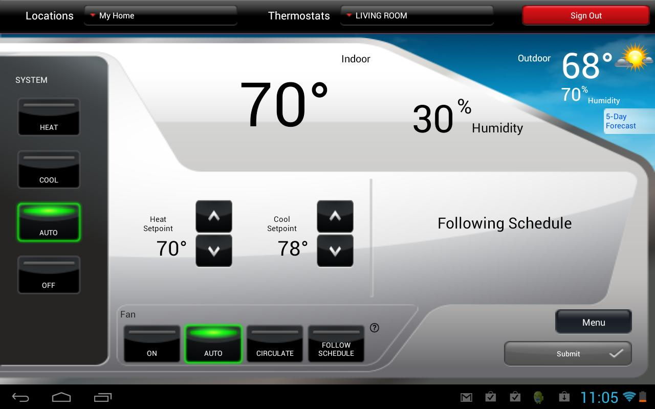 Honeywell Adds Voice Commands