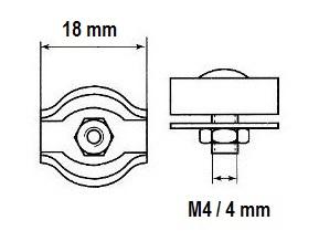 2mm 3mm 4mm 5mm 6mm 8mm Wire Rope Clamp Simplex Duplex