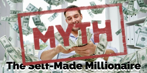 The Myth of the Self-Made Millionaire