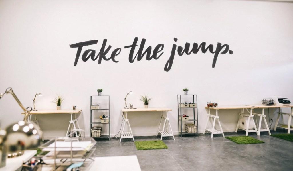 take the jump parachut