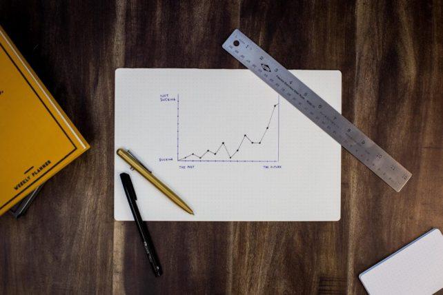 chart on desk financial_forecasting