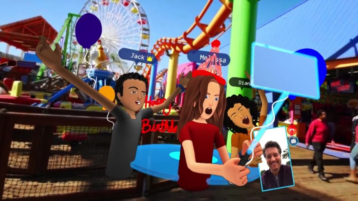 Facebook Spaces è finalmente realtà (virtuale) (2)