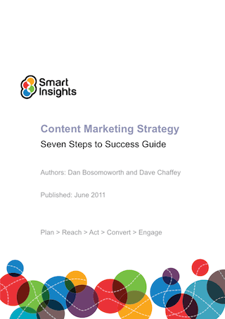 The content marketing hub a blueprint for content marketing  Smart Insights