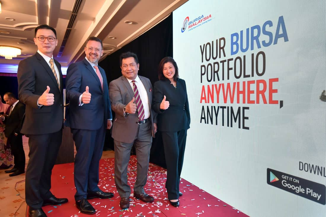 Bursa Malaysia Launches Bursa Anywhere, ASEAN's First Mobile Depository eServices App