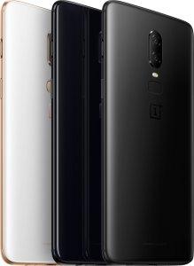 OnePlus 6 bakside.