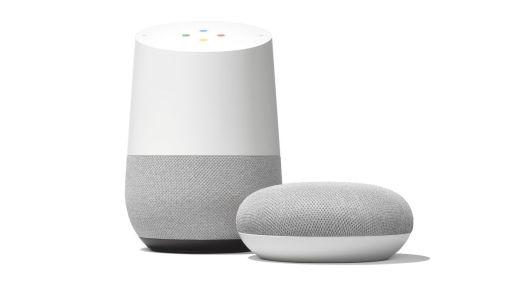 Google Home og Google Home Mini