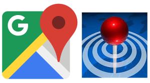 Ikon Google Maps og Around Me