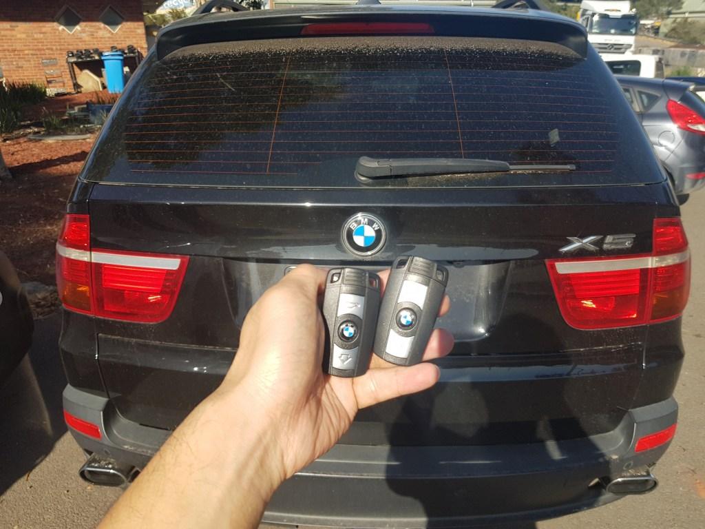 Bmw X5 Car Key Replacement Melbourne Sls Locksmiths