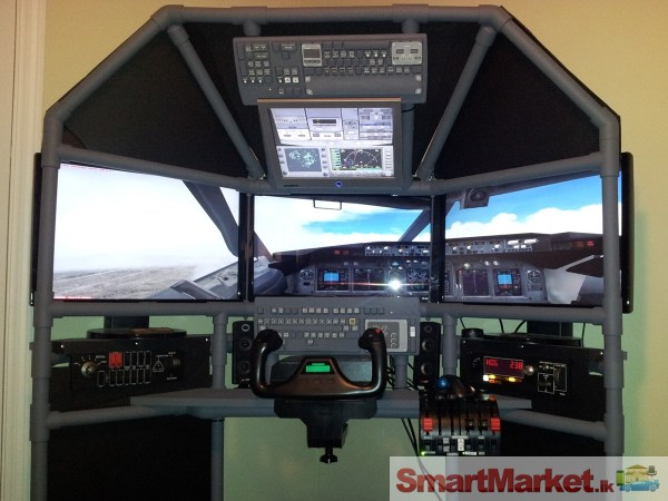 20+ Home Flight Simulator Cockpit Plans Pictures and Ideas on Meta