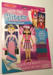 Glitter Paper Dolls