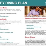 2017 Quick Service Credit Policy Changes- Disney Dining Plan