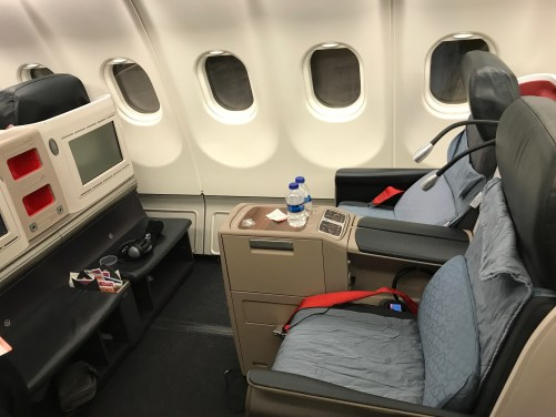 Turkish Airlines, A321 Seats J and K