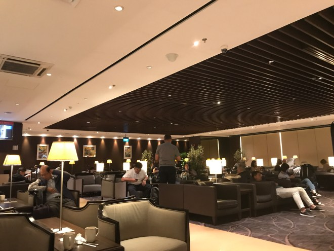 SilverKris Lounge, Singapore Changi