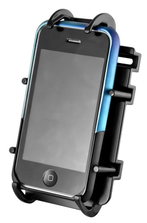 RAM spring loaded mobile phone holder
