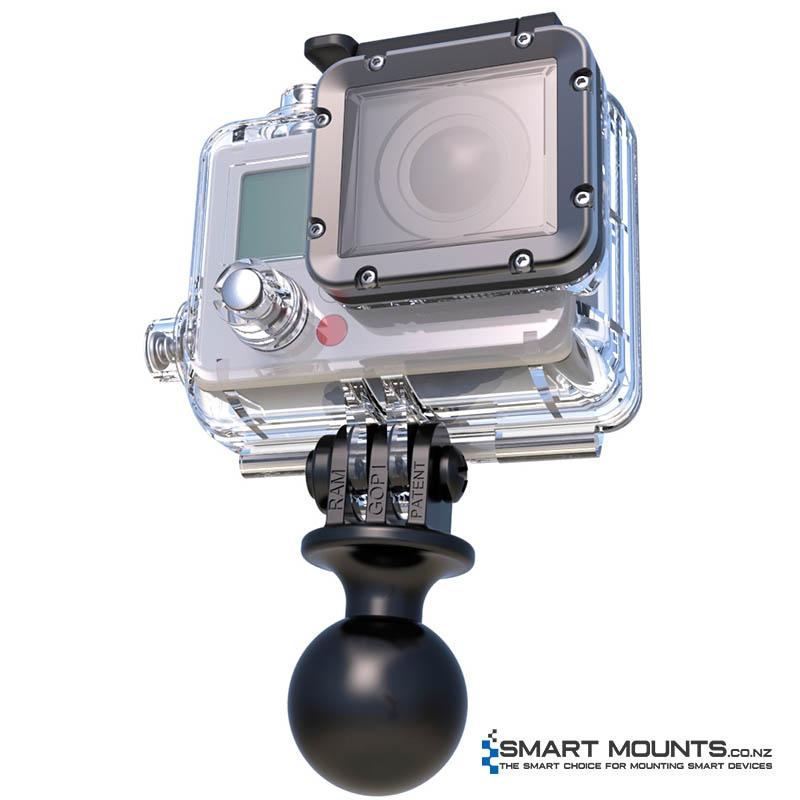 RAM Custom GoPro® Hero Adapter from Smart Mounts NZ