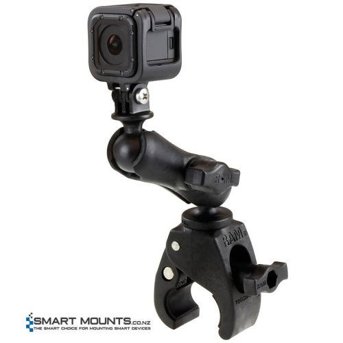 RAM Small Tough-Claw with Custom GoPro/Action Camera Adapter