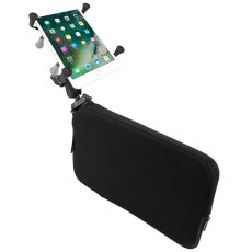 RAM Seat Tough-Wedge™ Mount with Double Socket Arm and X-Grip® Small Tablet Holder
