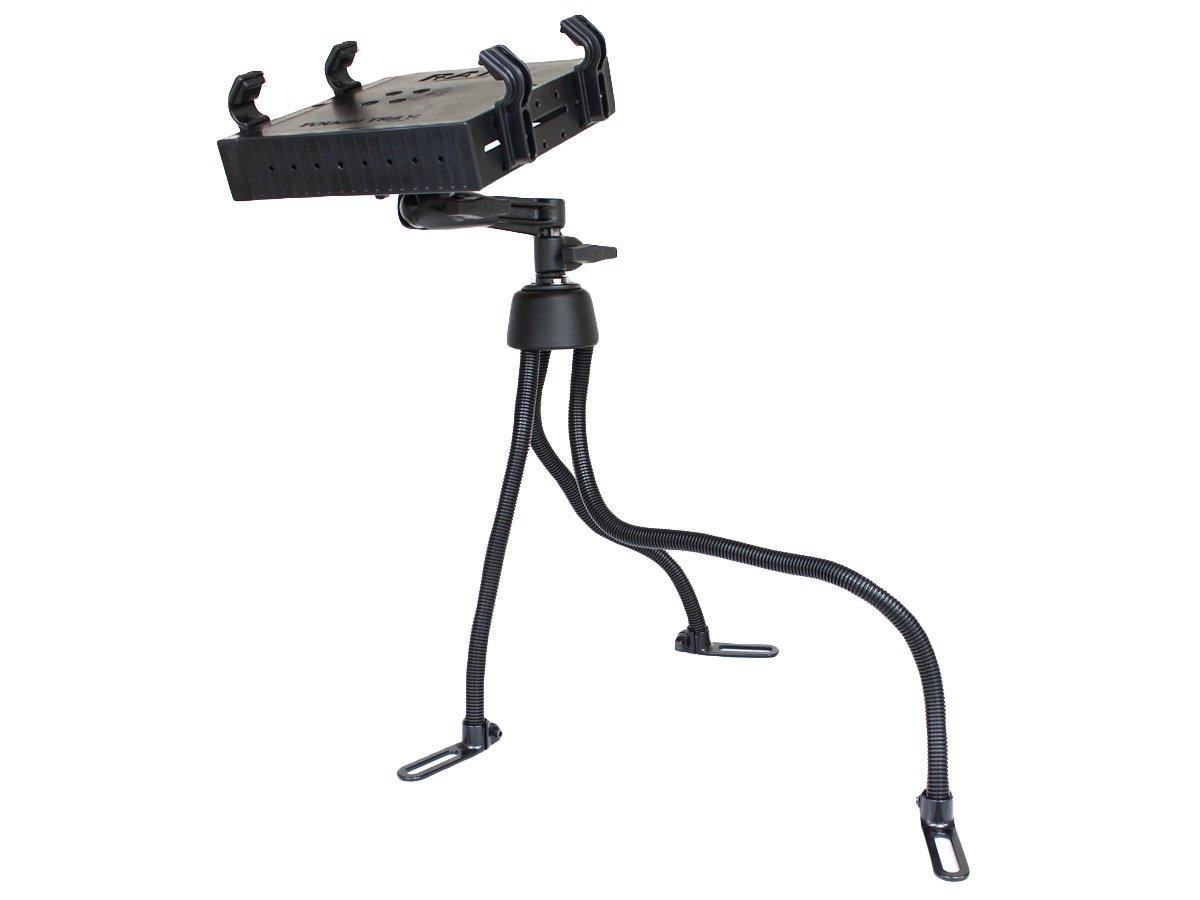 RAM Pod™ III Vehicle Mount with Single Pivot Swing Arm & Universal Tough-Tray™ Laptop Holder