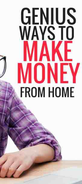 These amazing ways to make money money from home are THE BEST! I'm so glad I found these ways to mke extra money, now I can earn some cash to pay bills, save or buy someting nice for the holidays! Pinning for sure! #makemoneyfromhome