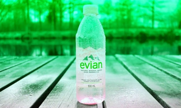Evian is officially carbon neutral across all of its facilities worldwide