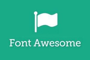 FontAwesome logo